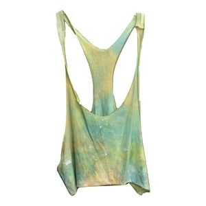New Emma & Sam Tie Dye Tank Top Bikini Cover Up